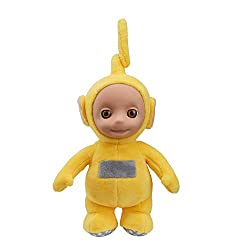 Cute and cuddly talking Laa-Laa Made from super soft plush with original Teletubbies styling Press Laa-Laa's tummy to hear her talk With original Teletubbies sound effects For ages 18 months and over.