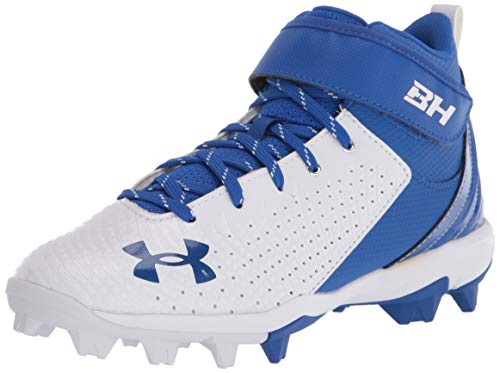 Under Armour Unisex-Child Harper 5 Mid Rm Jr. Baseball Shoe