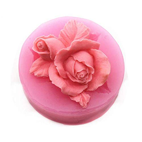 3D Rosa Fiore Cioccolato Stampo in Silicone Antiaderente...