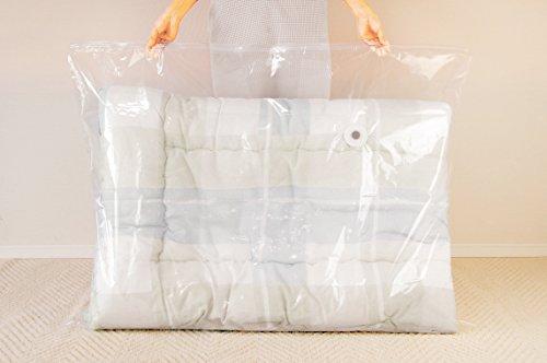オリエントバルブ式ふとん圧縮袋2枚セット120×92cm