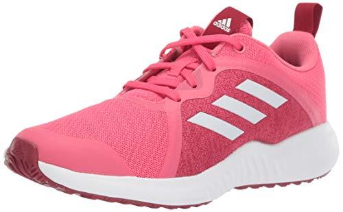 adidas Unisex-Kid's Fortarun X Running Shoe, Real Pink/White/Active Maroon, 6.5 M US Big Kid