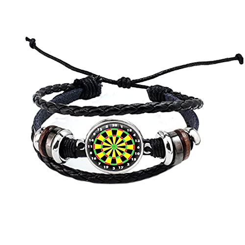 Dart-Armband, Dart-Armband, Dart-Schmuck, Sport-Schmuck, Dartscheiben-Armband, Geburtstagsgeschenk, Dart-Schild-Schmuck, N385
