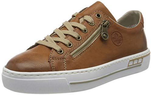 Rieker Damen L88C2 Sneaker, Braun (Cayenne/Braun/ 24 24), 41 EU