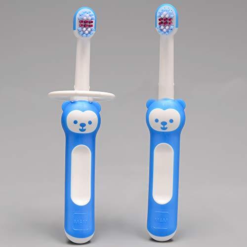 Baby'S Brush Set Mam (Kit De Escovas Dentais Boys), Mam, Azul