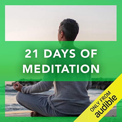 21 Days of Meditation audiobook cover art