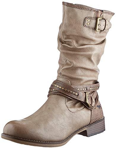 MUSTANG Damen 1139-624-318 Halblange Stiefel, Braun (Taupe 318), 39 EU