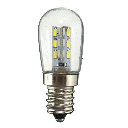 Edison Lichtsnoer, decoratieve gloeilampen, ac220/ac110vled lamp E12 E14 Smd 24 geleid hoge helderheid glazen lampenkap zuiver warm witte lamp voor naaimachine koelkast