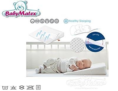 Baby Matex * * aeroklin almohada de bebé, incluye funda con * * transpirable almohada en 2tamaños * * Aero 3d Mesh Sistema para una perfecta circulación de aire