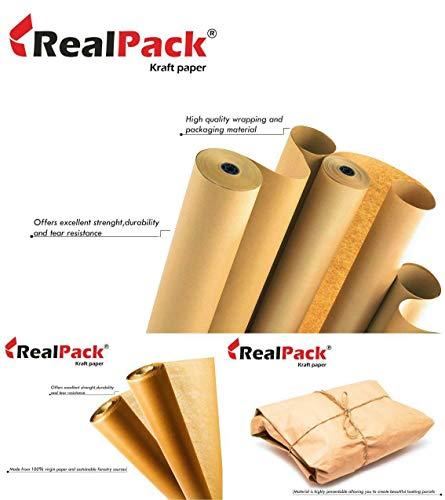 Realpack 500x25m Imitation Kraft roll