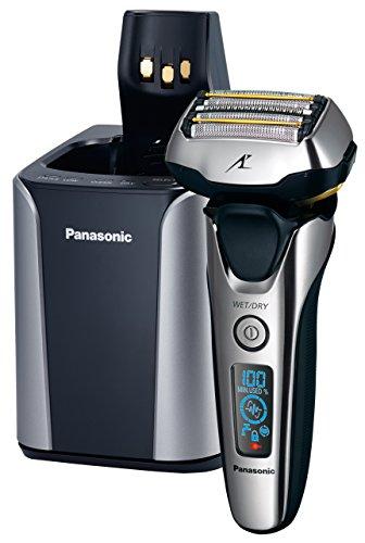 Panasonic ES-LV9N Máquina de afeitar de láminas Recortadora Negro, Plata -...