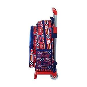 41yv1YysIDL. SS300  - safta 612011020 Mochila pequeña Ruedas, Carro, Trolley Cars, Multicolor