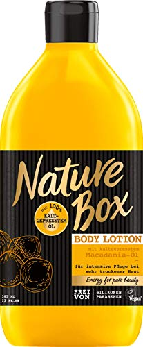 Nature Box Bodylotion Macadamia, 385 ml