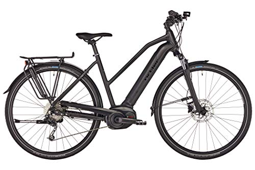 Ortler Bozen Performance Powertube Trapez Damen Black matt Rahmenhöhe 45cm 2019 E-Trekkingrad
