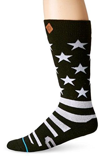Stance Stars And Bars Snowboard Socks Black 42-46