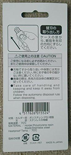 日本利器工業『ニッキークラシックダブル替え刃10枚ケース入り』