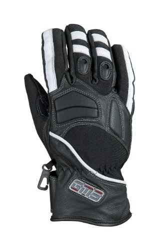 GERMAS 643.09-13-3XL Motorrad Handschuh CHRIS, Schwarz/Weiߟ, Gr. 3XL
