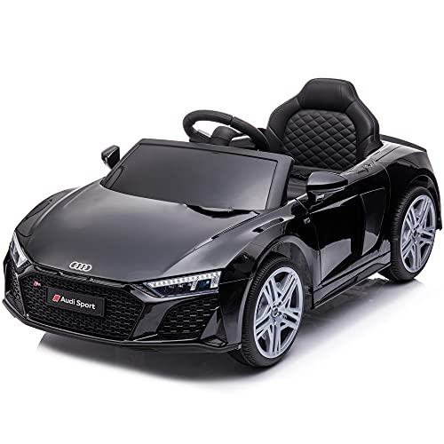 sopbost Licensed Audi 2021 R8 Spyder 12V Ride on Car for 2-5 Years Old Boys Girls Electric Ride On...