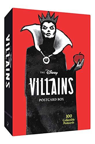 The Disney Villains Postcard Box: 100 Collectible Postcards
