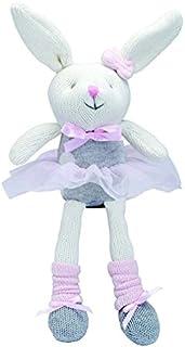 "Elegant Baby Knittie Bittie Ballet Bunny 10"" 25242"