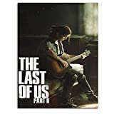 The Last of Us Part 2 Game Concept Poster Ellie Playing