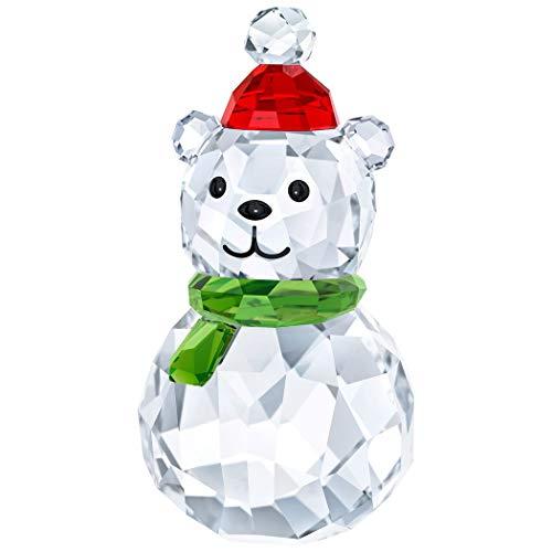 Swarovski Rocking Polar Bear, Kristall, Mehrfarbig, 4.4 x 2.3 x 2.3 cm