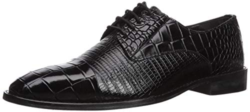 Croco Pattern Leather Shoes for Men