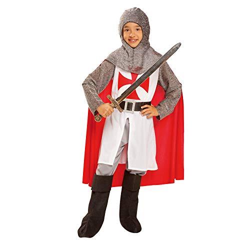 My Other Me Me-201166 Disfraz de caballero medieval con capa, 7-9 años (Viving Costumes 201166)