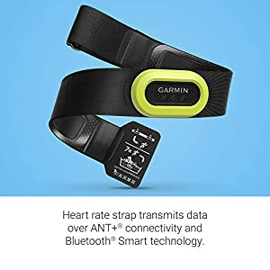 Garmin HRM-Pro, Premium Heart Rate Monitor Chest Strap, Real-Time Heart Rate Data and Running Dynamics, Black