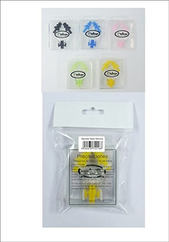 Bollinger 0SN-6 Tapones y Pinzas de Piscina, Unisex Adulto, Verde, Talla Única