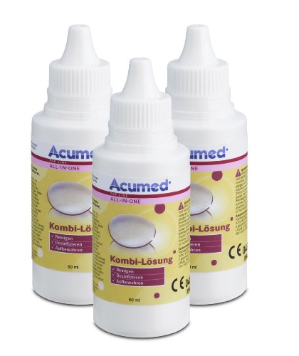 bester Test von best view kontaktlinsen Acumed 3212 3-Solution Pocket Set, 150 ml