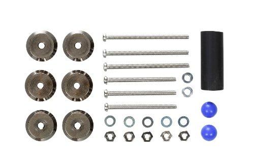 Mini 4WD Limited Edition - Gunmetal Adjust Mass Damper (2.5g x 6 pcs.)