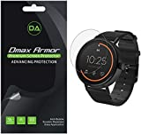 [6-Pack] Dmax Armor for Misfit Vapor 2 (46mm) Screen Protector, Anti-Bubble High...