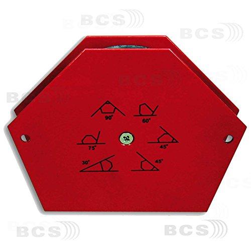 Kraftmagnet 25kg Magnethalter, 30°, 45°, 60°, 75°, 90° Winkel nutzbar! Magnet Winkel Schweißen Winkelmagnet permanent Schweißwinkel