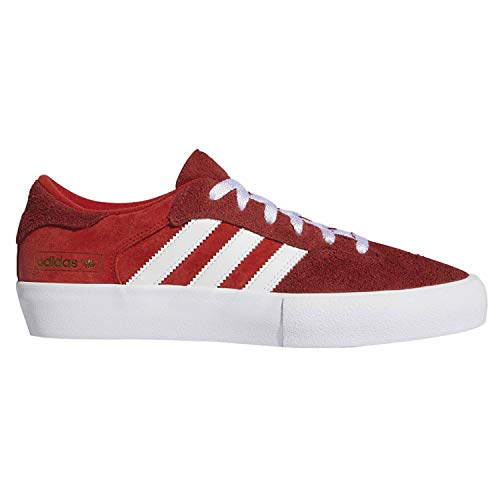 adidas Matchbreak Super (Brick/White/Gold Metallic) Men's Skate Shoes-10