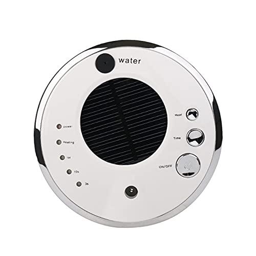 GZA Purificador De Aire No Tóxico Difusores De Aromaterapia Difusores De Automóviles Solar Humidificador De Aceite Esencial (Color : White)