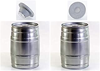 Nahrungsmittel-selbermachen Molde de alimentos 5/l, barril de cerveza Incluye V/álvula Tap/ón, Fiesta Barril sin estampado para su selbstge brautes