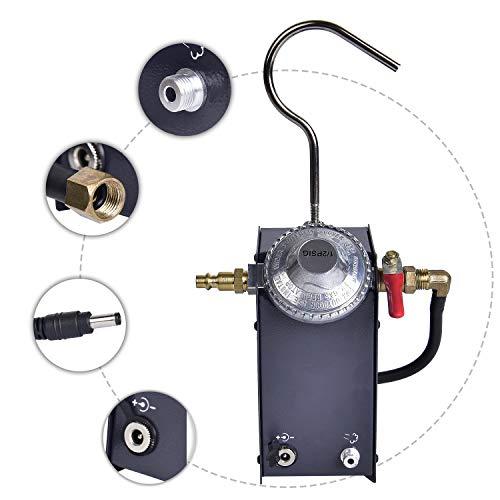 EI009G Car Fuel Leak Detectors, Diagnostic, Automotive Fuel Pipe System Leak Tester with EVAP...