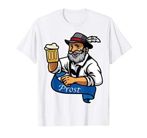prost bier T-shirt für Bierlibhaber und bierfeste ,