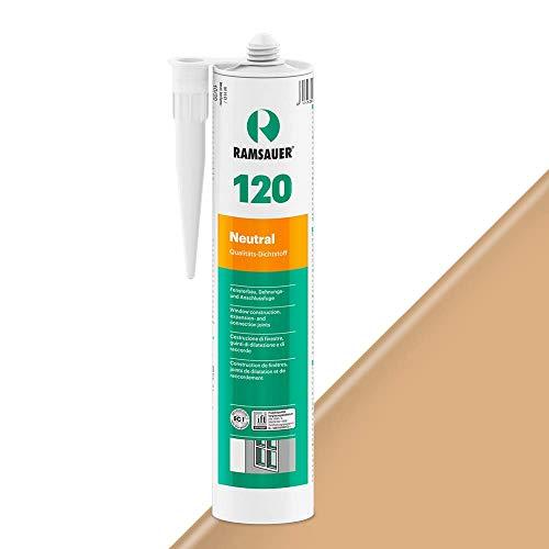 Ramsauer 120 Neutral 1K Silikon Dichtstoff 310ml Kartusche (Buche)
