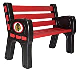 Imperial Officially Licensed NHL Merchandise: Chicago Blackhawks Park Bench