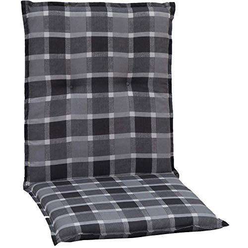 Beo Niedriglehner Auflagen UV-beständig Barcelona | Made in EU nach Öko-Tex Standard | Waschbare Stuhlauflage Niedriglehner | Atmungsaktive...