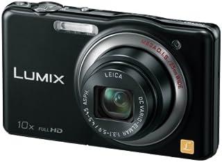 パナソニック デジタルカメラ ルミックスSZ7 光学10倍 ブラック DMC-SZ7-K