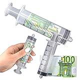 Geldspritze Finanzspritze Geldgeschenk Lustig Geschenkidee Geld Geschenk Box ca.15cm
