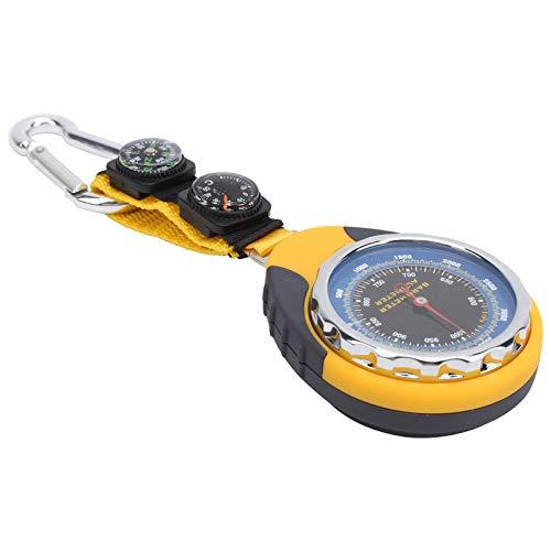 Termómetro de brújula de diseño Compacto y pequeño Altímetro para Dispositivo de...