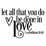 Vancetyno Let All That You Do Be Done in Love 1...