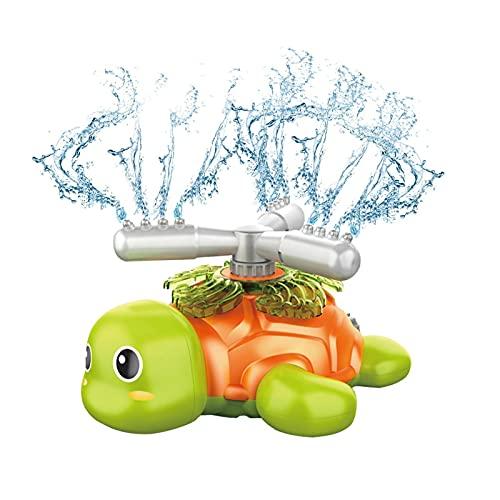 Longgaohui Wassersprüher für Kinder & Kleinkinder - Spiele im Freien Spinning Tortoise Sprinkler Spielzeug Spaß Gartenbrunnen Spielspielzeug für 2-12 Jahre Jungen & Mädchen