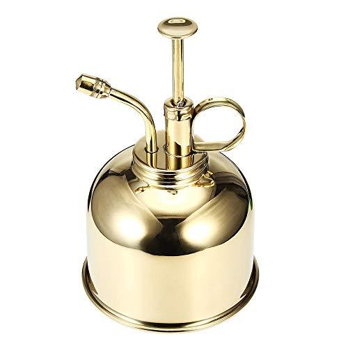 Jianghuayunchuanri Flacons pulvérisateurs à Brume Fine 300ml Mini Maison Usine d'eau Vaporisateur Pot Pulvérisateur pour Le Maquillage cosmétique (Couleur : Gold, Size : 300ml)