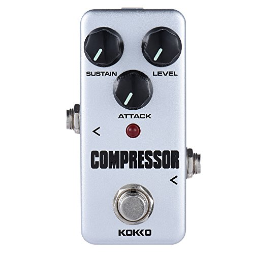 KOKKO FCP2 Guitar Effect Pedal Mini Compressor Pedal