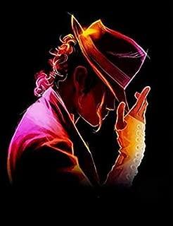 PRUEKMI Art Poster Michael Jackson 18 x 24 inches Unframed for Wall Decoration (Silk Poster)
