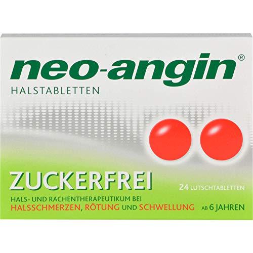 neo-angin Halstabletten zuckerfrei Original KLOSTERFRAU, 24 St. Tabletten